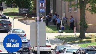 Two Kansas City deputies shot while transporting inmates - Daily Mail