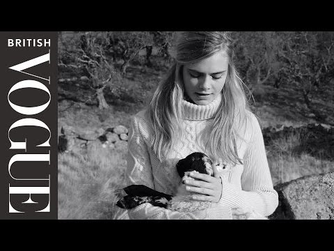 Cara Delevingne & Her Baby Lamb | Celebrity Interviews | British Vogue