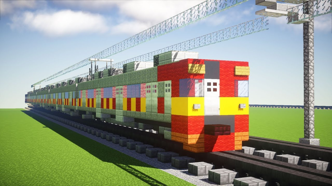 Minecraft Tokyu  Series Krl Kereta Api Tutorial