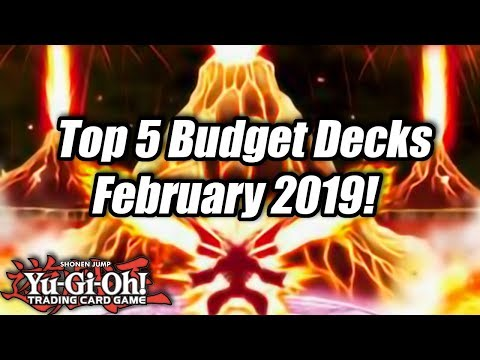 Yu-Gi-Oh! Top 5 Competitive Budget Decks for the February 2019 Format!