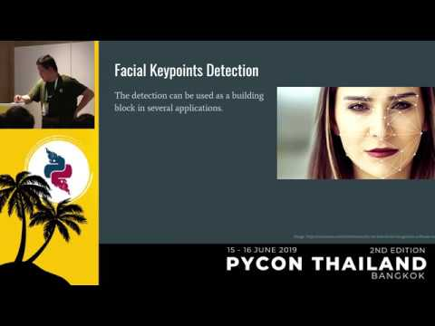 Image from Facial Keypoints Detection with PyTorch - Nithiroj Tripatarasit