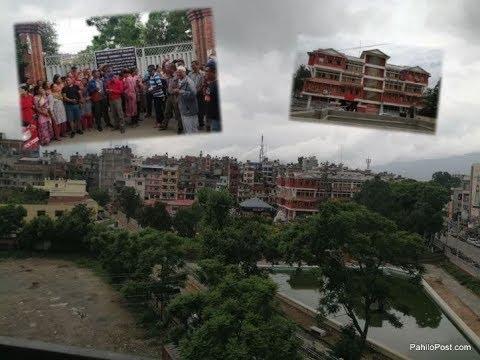 ललितपुर महानगरविरुद्ध उत्रिए स्थानीय : पलेस्वाँ पुखु ब्युताउने प्रयास