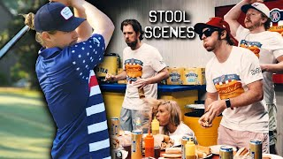 Barstool Employees Inhale Hot Dogs in Competitive Eating Contest -  Stool Scenes 265