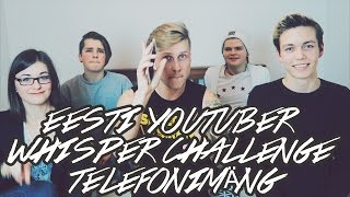 Eesti YouTuber Whisper Challenge