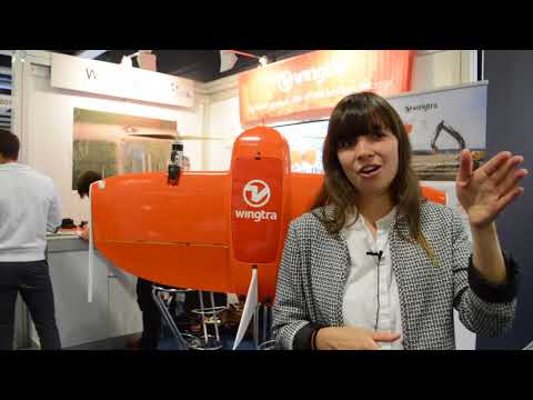 Wingtra presents mapping, surveying drone at Intergeo 2017