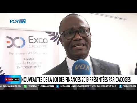 Nouveautés de la loi des Finances 2019 présentées par CACOGES