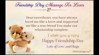 Happy Friendship Day Wishes to Friend | Friendship Messages, Greetings, Whatsapp Status
