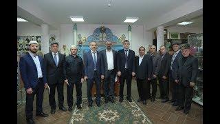 Энрик Муслимов посетил синагогу «Келе Нумаз»