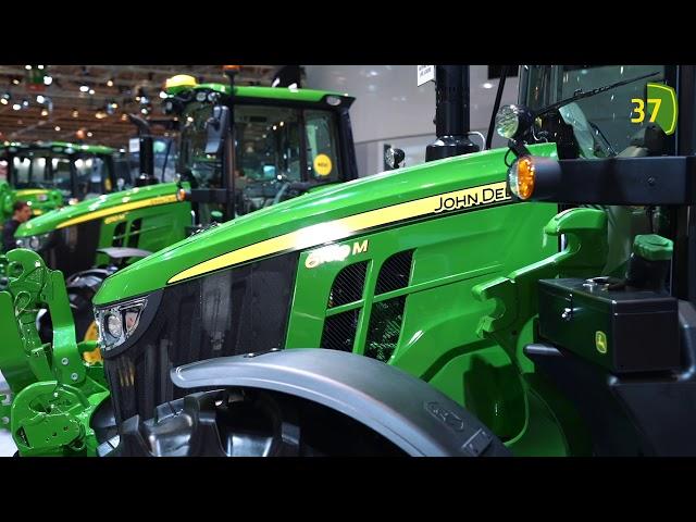 Agritechnica 2019  John Deere Standtour - Traktor-Innovationen