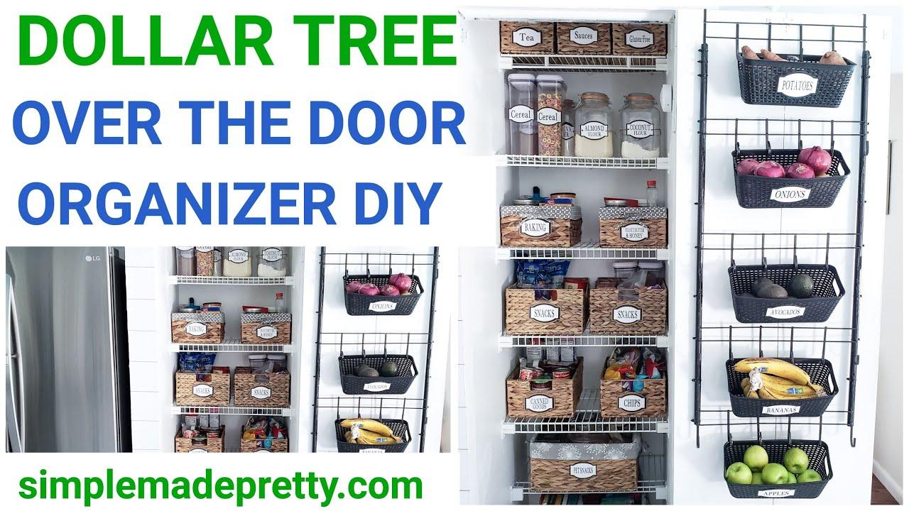 Diy Dollar Tree Over The Door Organizer