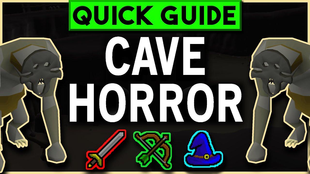OSRS Cave Horror Slayer Guide 2007 - Melee/Range/Magic Setups (NOV 2019) -  YouTube