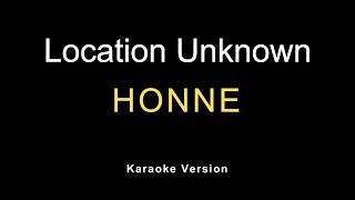 Download HONNE - Location Unknown (Karaoke)