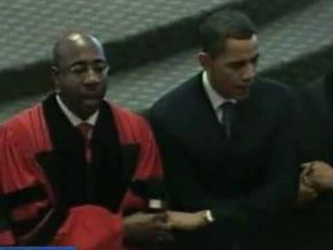 Obama at Ebenezer - We Shall Overcome