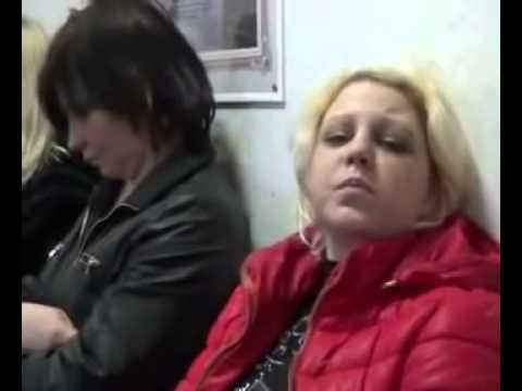 Проститутки жестоко дерутся на шоссе !!!