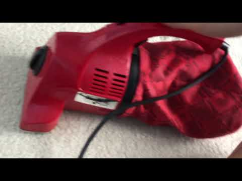 1987 Dirt Devil 103 Hand Vacuum Unboxing And Review
