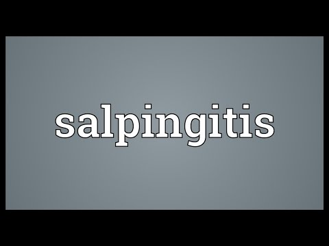 Salpingitis Meaning
