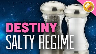 DESTINY Salty Regime Review - LAST WORD OP (PS4 Gameplay Commentary) Funny Moments