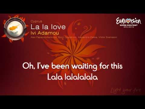 """Ivi Adamou - """"La La Love"""" (Cyprus)"""