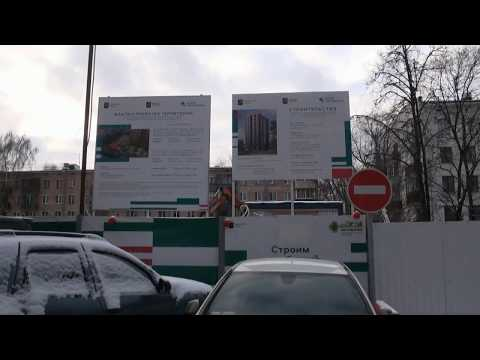 Дом по программе реновации строят на Ангарской улице, дом 33