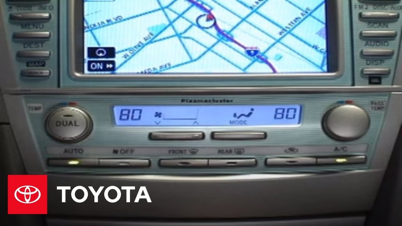 2007 2009 Camry How To Defrosting Toyota Youtube