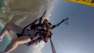 Guy scared of heights gets pranked during paragliding