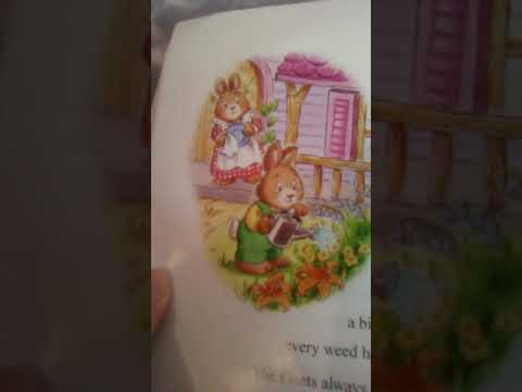 Reading the book. Buttercup hill for kids. Part 1
