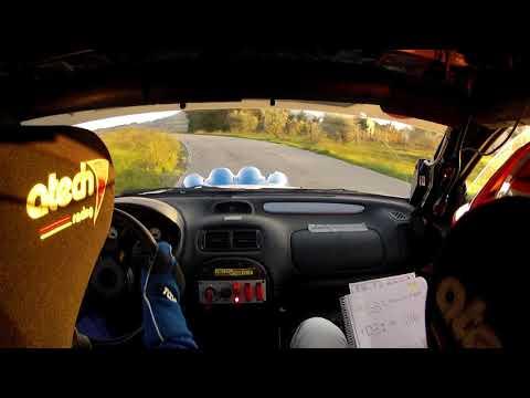 Marco Cassano - Alessio Natalini Rally Pomarance 2018 P.S 5 VALLE DELLA TROSSA