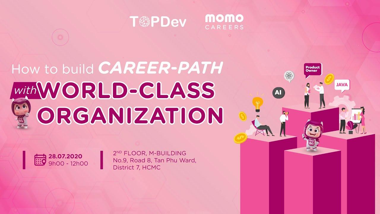 MoMo x TopDev: Đối thoại cùng những chuyên gia công nghệ hàng đầu tại MoMo!