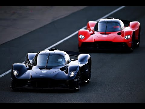 Aston Martin Valkyrie tested by Max Verstappen and Alex Albon