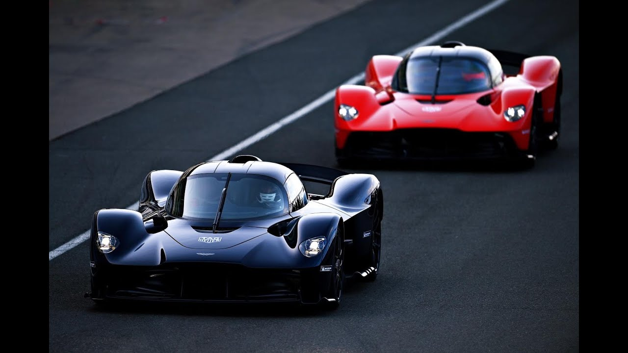Aston Martin Valkyrie Tested By Max Verstappen And Alex Albon Youtube