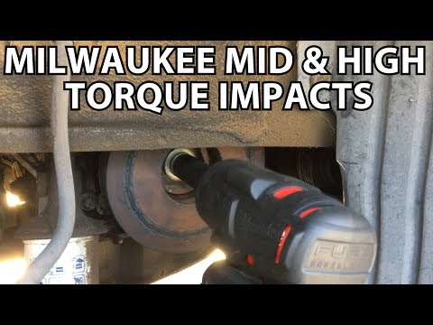 Tool Review: Milwaukee Mid Torque & High Torque Impacts