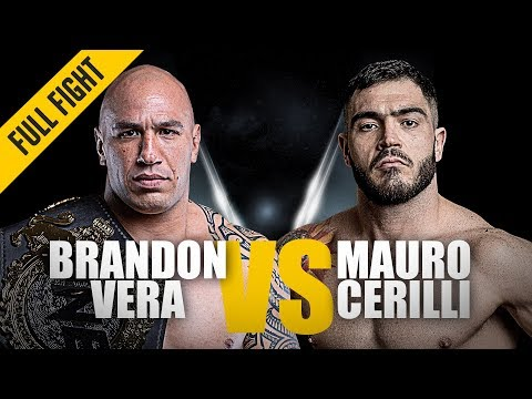 ONE: Full Fight | Brandon Vera vs. Mauro Cerilli | Back With A Bang | November 2018