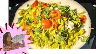 Pasta Tricolore Con Rucola, Pomodorini, Gorgonzola - 25 Aprile