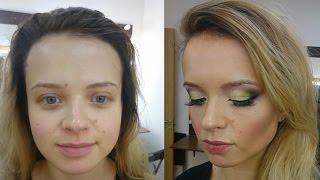 Обучение визажу! Повседневный макияж перевоплощаем в вечерний!