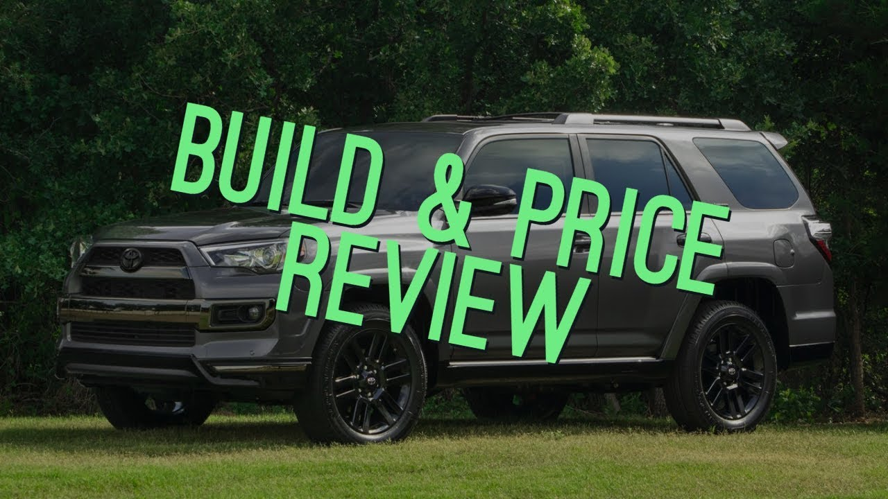 Toyota Build And Price >> 2019 Toyota 4runner Trd Off Road Premium Build Price Review Colors Interior Configurations