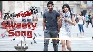 Race Gurram Song Trailer   Sweety Song   Allu Arjun   Shruti Haasan   Surender Reddy