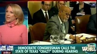 "Hateful Congressman, Alcee Hastings, Calls Texas ""Crazy"" - How Democrats Really Feel About Texas"