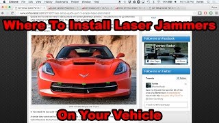 ALP Setup: Where to Install Laser Jammers On Your Car