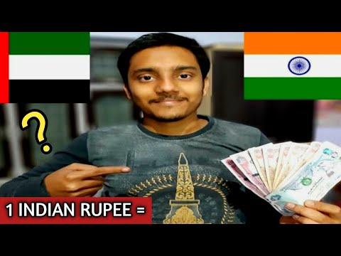 Dubai currency : FULL DETAILS  , VALUE OF DIRHAMS IN INDIAN RUPEE.