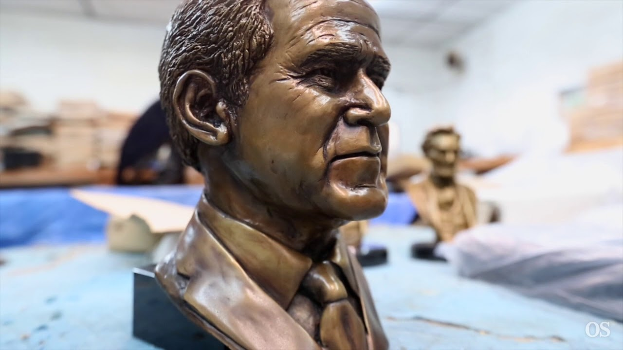 Bronze foundry in Sanford has statues all over the world