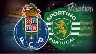 Porto 1 x 3  Sporting Taça Portugal Todos os Golos (Antena 1) [HD]