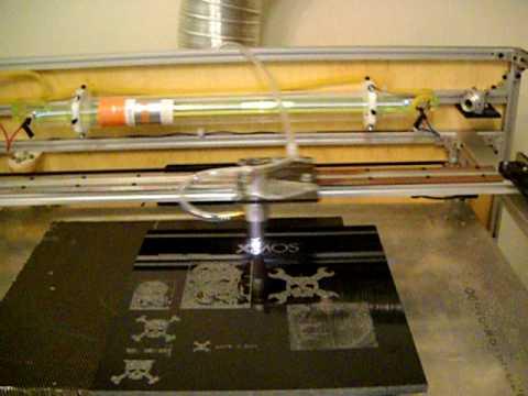 XMOS Laser Engraver Controller  YouTube