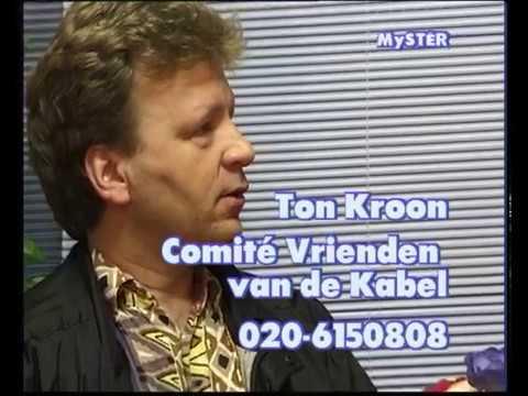 Ton Kroon Comite Vrienden van de Kabel met Luc Sala 3april1999
