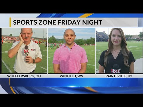 Friday Night Football Previews LIVE from Wheelersburg, Winfield and Johnson Central High Schools
