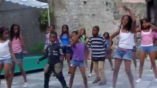 los niños maravilla bailando salsa choke