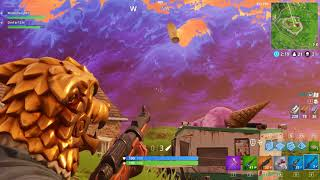 Getting a 326 m Kill with a hunting rifle *Fortnite*