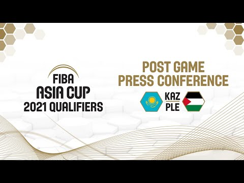Kazakhstan v Palestine - Press Conference - FIBA Asia Cup 2021 Qualifiers