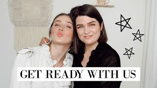 FULL FACE Chat & Get Ready With Us ❤️ ft. The Anna Edit #FFF