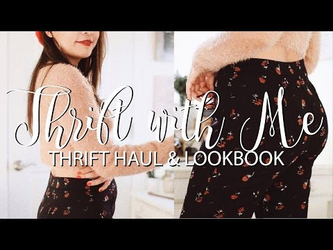 Come Thrift With Me! 👚 (thrift haul & lookbook)