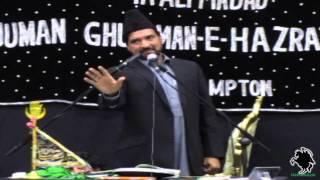 Allama Ali Nasir Al-Hussaini Talhara - AGHA Northampton (UK) - 5th May 2013/Jamadi-ul-Sani 1434